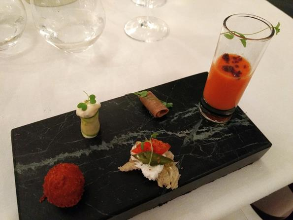 Cipriani - Sopa de tomate com pó de azeitona - Paulo Basso Jr. - Paulo Basso Jr./Rota de Férias/ND