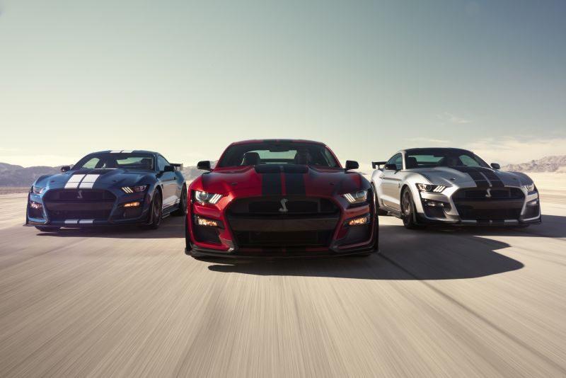 Com 770 cv, novo Mustang Shelby GT500 é o carro de rua mais potente da Ford - Foto: Divulgação