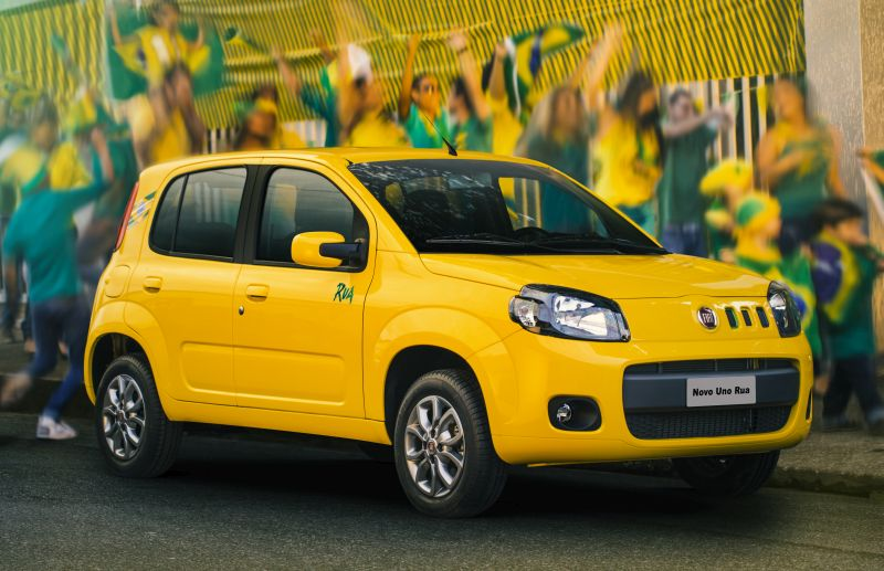 Fiat Uno: uma estrela para adultos e duas para crianças - Foto: Divulgação - Foto: Divulgação/Garagem 360/ND