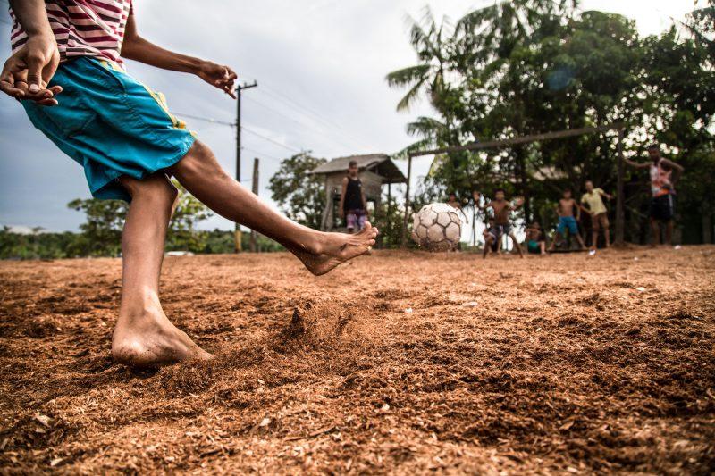 Futebol no interior da Ilha do Marajó, Afuá (Pa) - Anderson Coelho/ND
