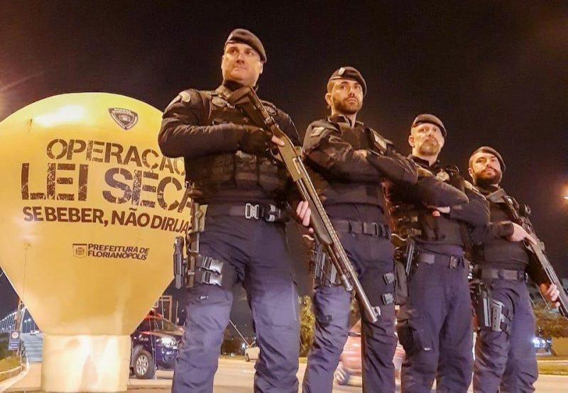 Guarda Municipal de Florianópolis abordou 568 motoristas nos principais bairros da Capital – GMF/Divulgação/ND