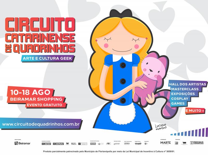 Circuito Catarinense de Quadrinhos – – Divulgação/ND
