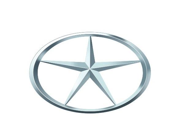A JAC Motors tem o logotipo formado por uma circulo oval que representa o mundo e uma estrela de cinco pontas, sendo que cada uma indica um continente onde a marca está presente - Foto: Divulgação - Foto: Divulgação/Garagem 360/ND