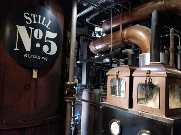 Fábrica da Jack Daniel (fermentação) - Paulo Basso Jr. - Paulo Basso Jr./Rota de Férias/ND