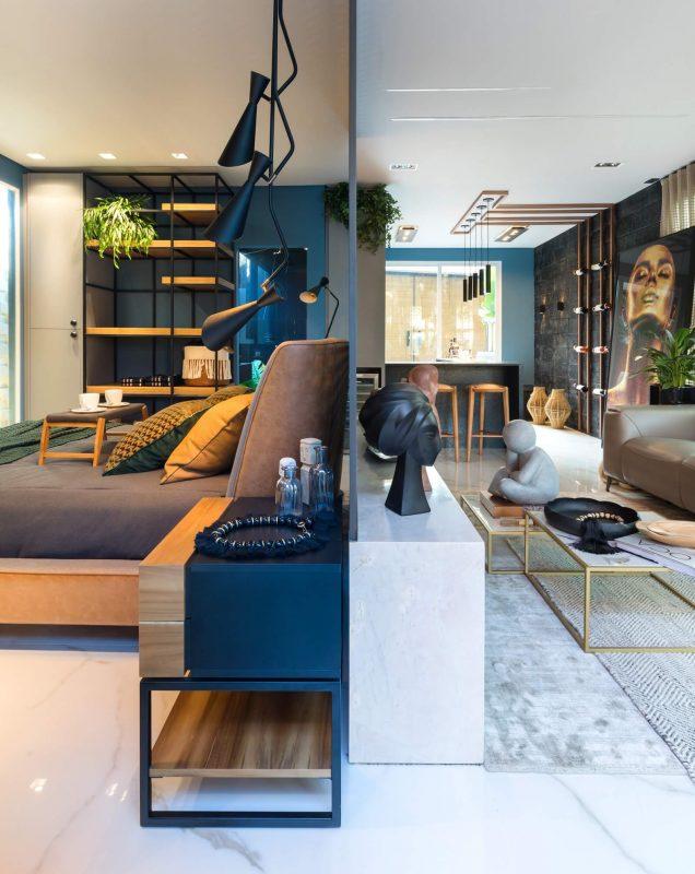 Loft Haven Home, de Mike Hoffmann e Lia Herrmann – Fabio Severo/CasaCor SC/Divlgação