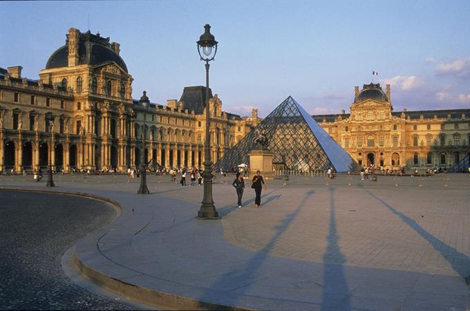 Museu do Louvre, Paris, França - C. MOUTARDE - Divulgação - C. MOUTARDE - Divulgação /Rota de Férias/ND
