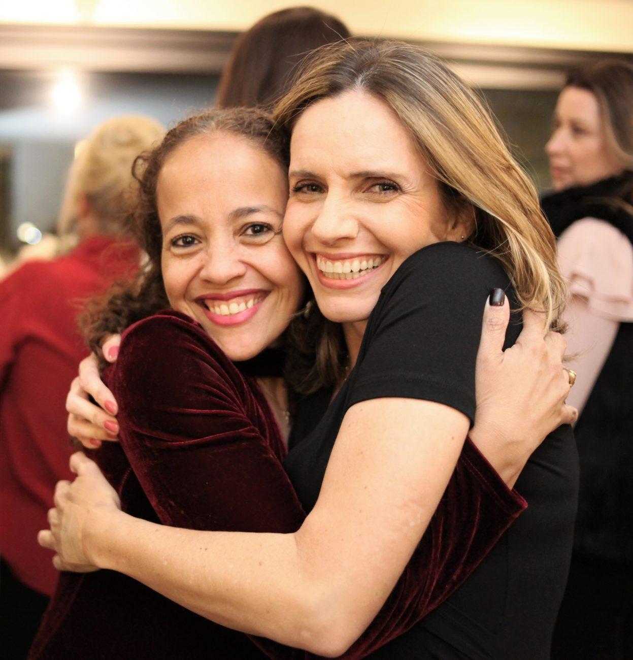 Mirelle Silveira dos Santos (à esq.) e Daiane Duarte - Vanessa Pinho/Divulgação/ND