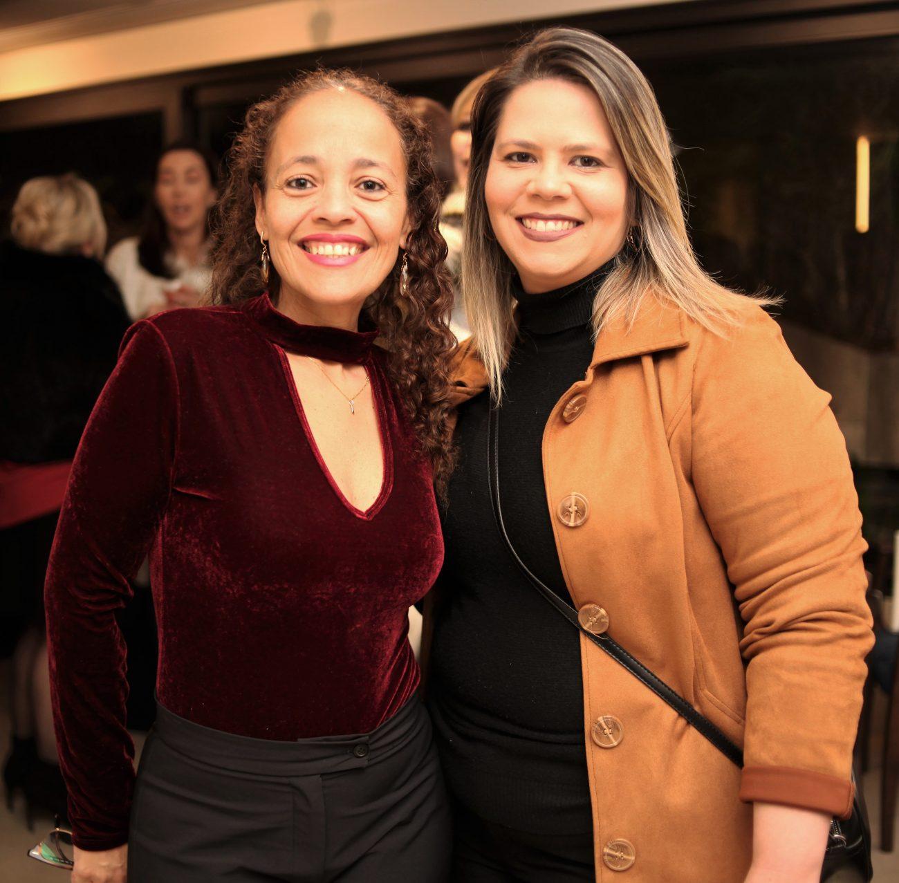 Mirelle Silveira dos Santos (à esq.) e Tatiana Beltrão Rego - Vanessa Pinho/Divulgação/ND