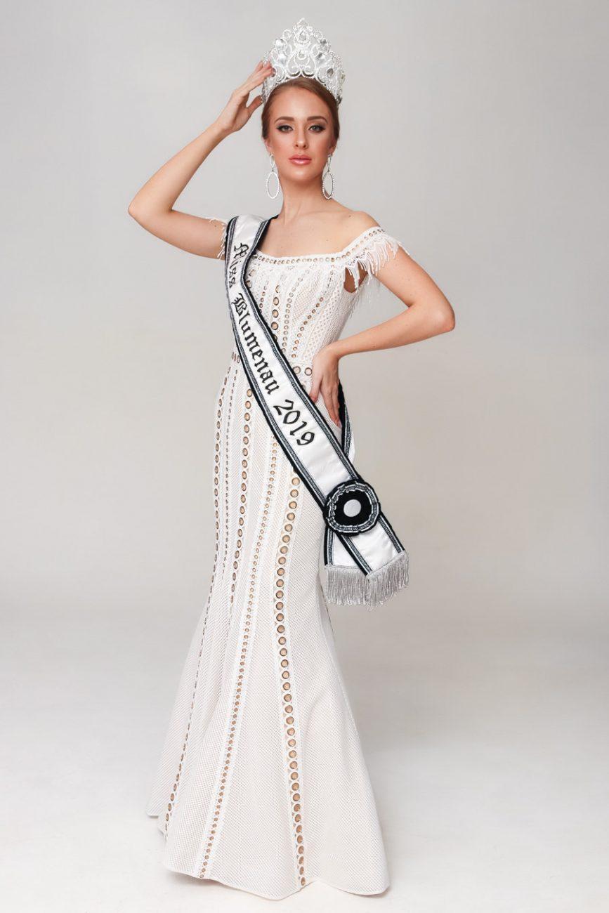 Miss Blumenau: Milena Sens - Miss SC/Divulgação/ND