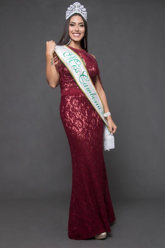 Miss Camboriú: Dhayane Aimone - Miss SC/Divulgação/ND