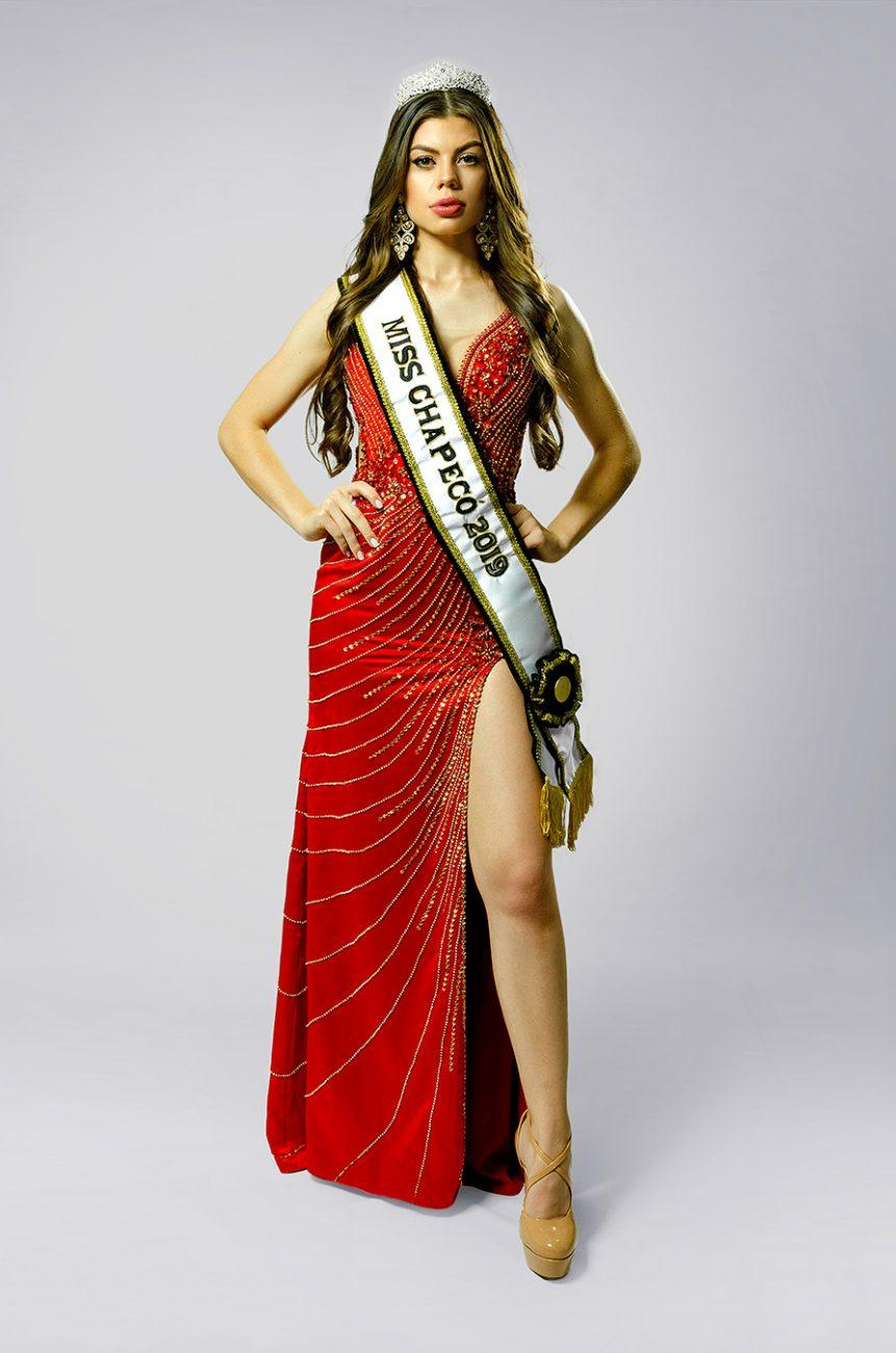 Miss Chapecó: Débora Chiarello - Miss SC/Divulgação/ND
