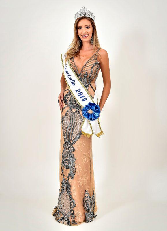 Miss Concórdia: Taynara Benelli - Miss SC/Divulgação/ND