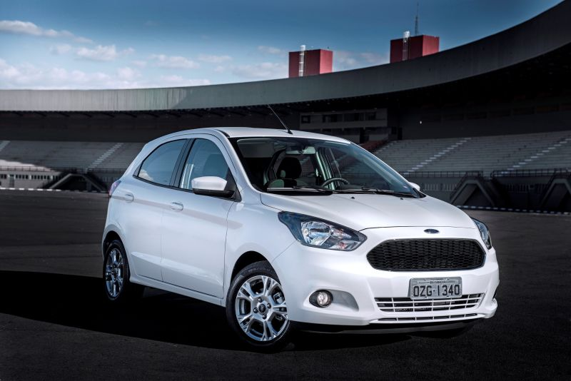 Ford Ka: zero estrela para adultos e três estrelas para crianças - Foto: Divulgação - Foto: Divulgação/Garagem 360/ND