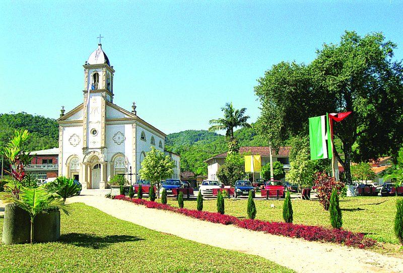 Santuário de Madre Paulina é um dos destinos de Nova Trento – Santur/Divulgação/ND