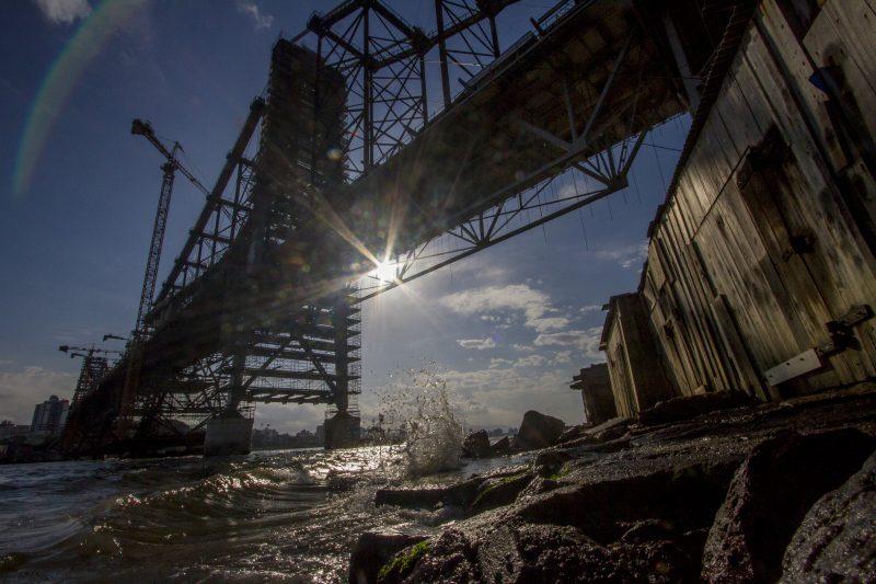 Ponte Hercílio Luz deve ser reinaugurada no final do ano – Foto Flavio Tin/ND