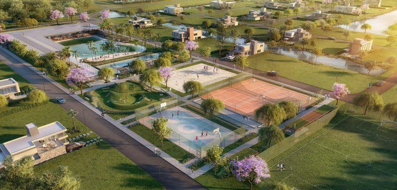 Local terá terrenos a partir de 300 metros quadrados com espaço de convivência e área natural de lazer – Divulgação/ND