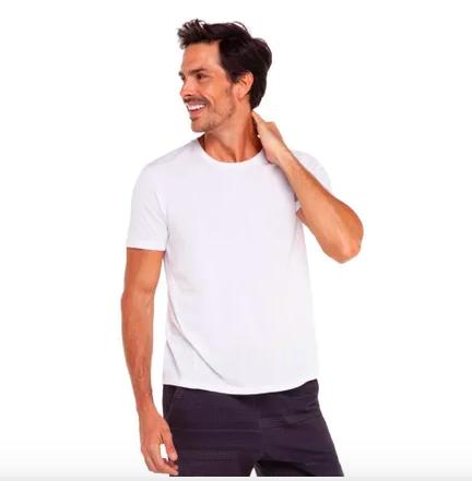 Camiseta manga curta Pixel – Track & Field – de 159,00 por 99,00 – Divulgação/ND