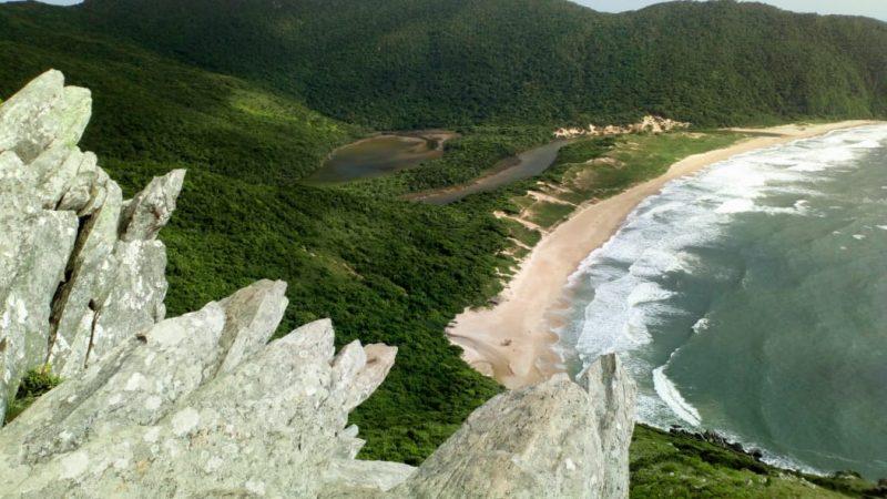 Praia da Lagoinha do Leste ganha reforço na segurança dos banhistas com posto guarda-vidas – Floram/Divulgação/ND