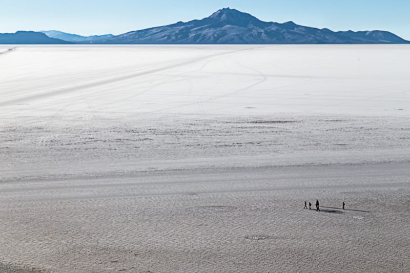 Salar de Uyuni, na Bolívia - Anderson Coelho/ND