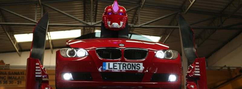 Transformers da vida real: empresa turca cria robô a partir de uma BMW - Reprodução