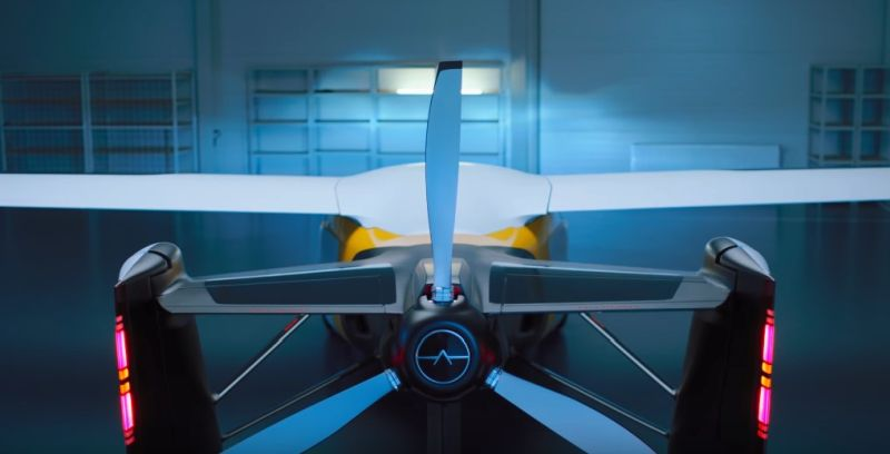 Projeto Aeromibile - Foto: Reprodução/YouTube - Foto: Reprodução/YouTube/Garagem 360/ND
