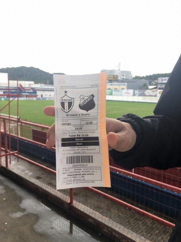 Brusque x Ituano lutam por uma vaga na final da Série D do futebol nacional - Diogo de Souza/ND