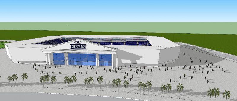 A Arena Havan era sonho antigo do Quadricolor – Foto: Reprodução/ND