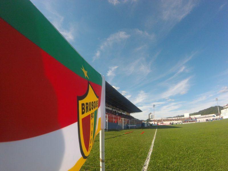 Estádio Augusto Bauer, em Brusque - Diogo de Souza/ND