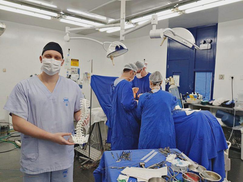 Cirurgia durou nove horas – RICTV/Divulgação