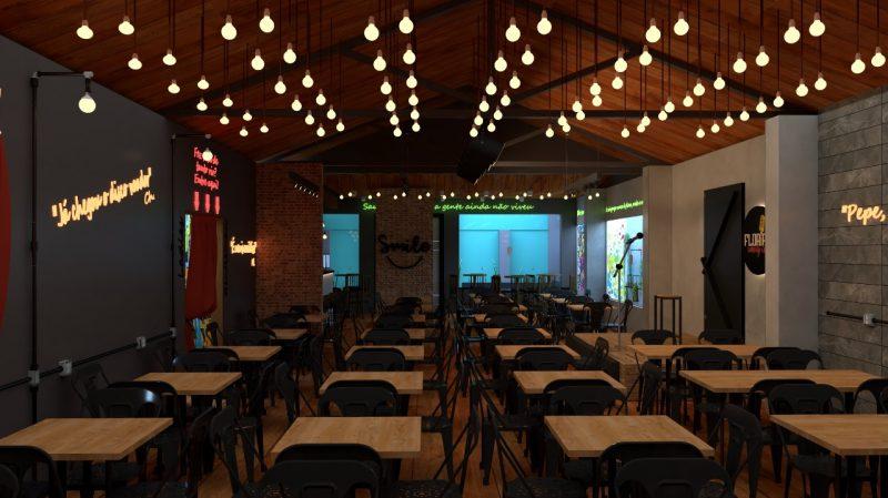Espaço conta com 150 lugares para o público se divertir – Floripa Comedy Club/Divulgação/ND