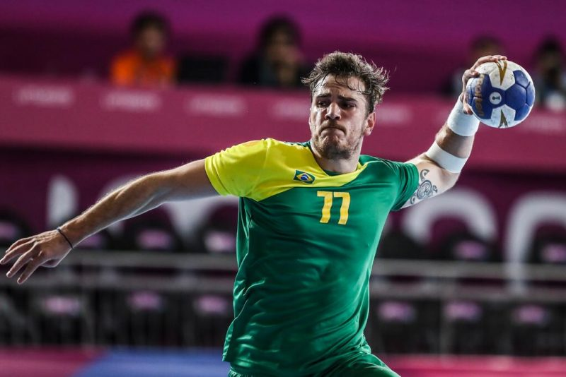 Catarinense de Blumenau, Rudolph Hackbarth integra a seleção brasileira principal desde 2017 – Divulgação/ND