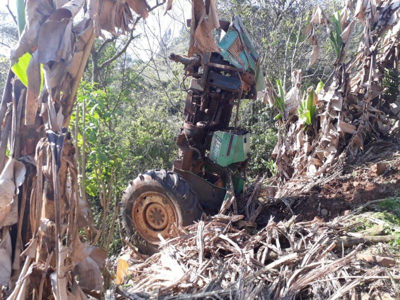 Homem morreu no local do acidente – Polícia Civil/Divulgação/ND
