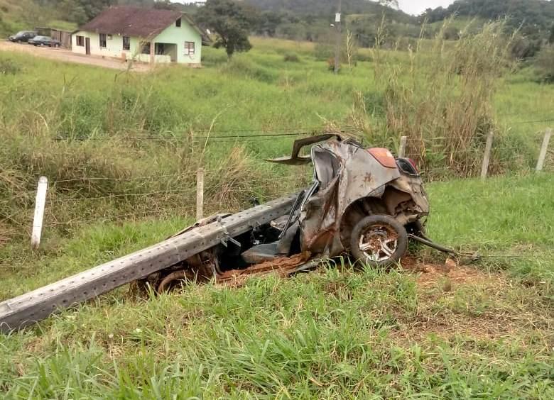 Acidente aconteceu na manhã do dia 11 de agosto, em Barra Velha – Bombeiros Voluntários de Barra Velha/Divulgação