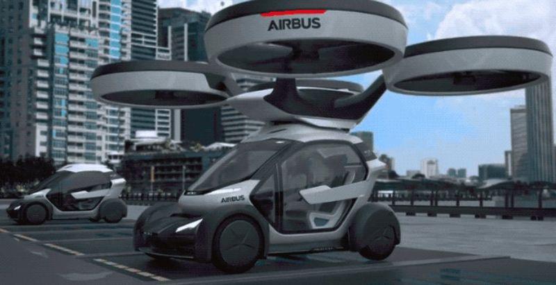 Projeto da Airbus - Foto: Reprodução/YouTube - Foto: Reprodução/YouTube/Garagem 360/ND