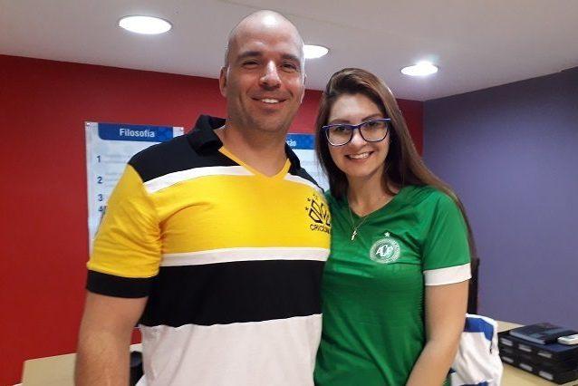 Jessé Lopes e Ana Campagnolo – Reprodução/ND