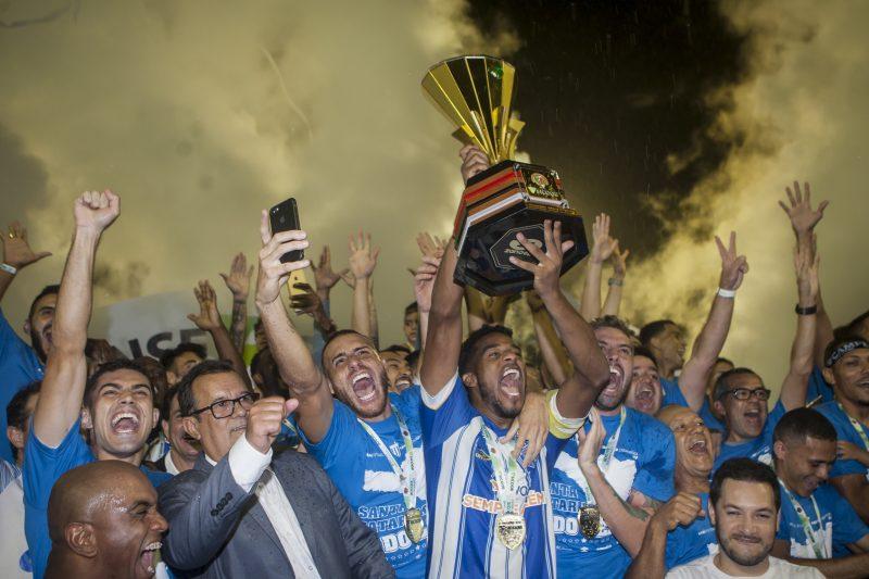 Avaí se consagra campeão catarinense de 2019 - Flávio Tin/ND