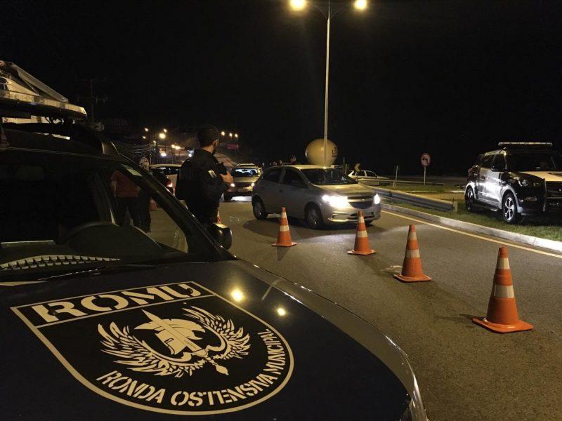 Blitz ocorreu na rodovia Armando Calil Bulos, nos Ingleses – PMF/Divulgação
