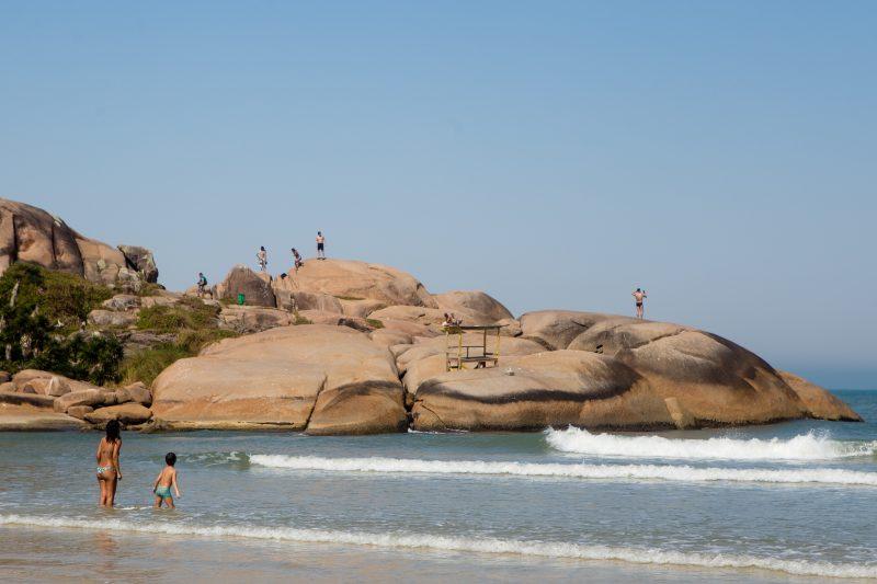 Termômetros ultrapassaram os 30°C em Florianópolis nesta quinta-feira - Flavio Tin/ND