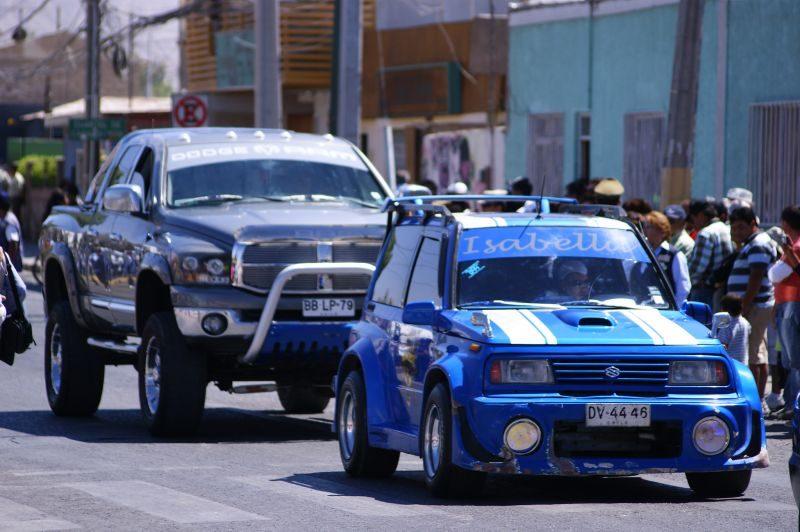 Gosto duvidoso: veja acessórios polêmicos utilizados nos automóveis - Foto: @Chile_Satelital on Visual Hunt / CC BY-ND