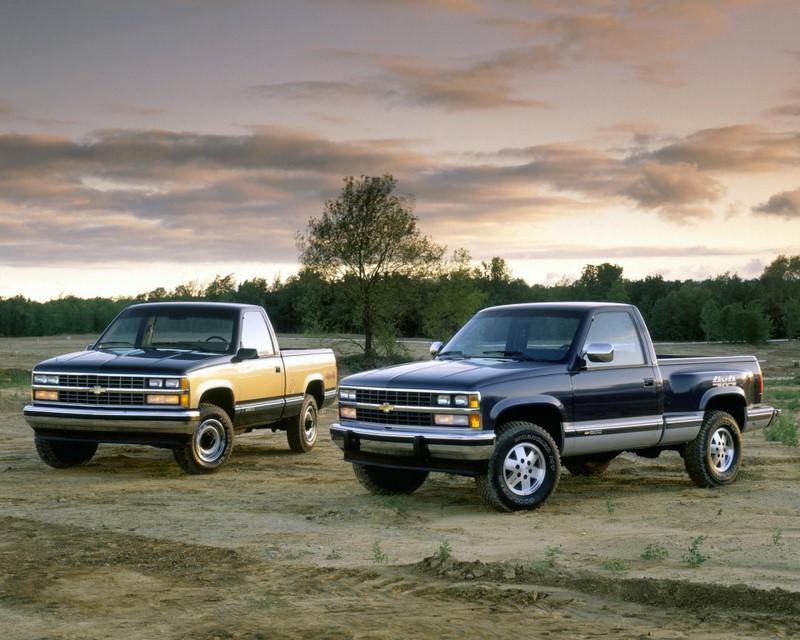 Chevrolet Silverado: última picape grande da marca no país, foi lançada como sucessora da D20, mas nunca emplacou. Lançada em 1997, saiu de linha em 2002 - Foto: Divulgação - Foto: Divulgação/Garagem 360/ND