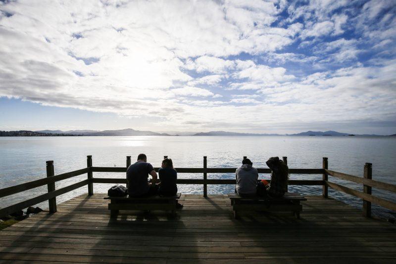 Sol e temperaturas mais amenas devem marcar o fim de semana – Foto: Anderson Coelho/Arquivo/ND