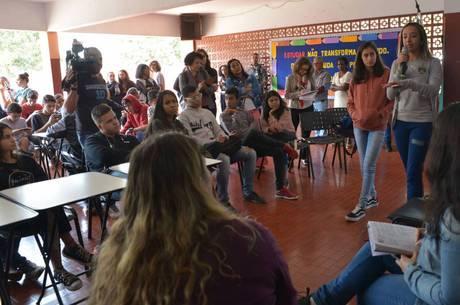 Escola recebeu visita da Comissão da Assembleia Legislativa – Divulgação/ ALMG/Clarissa Barçante/Portal R7/ND