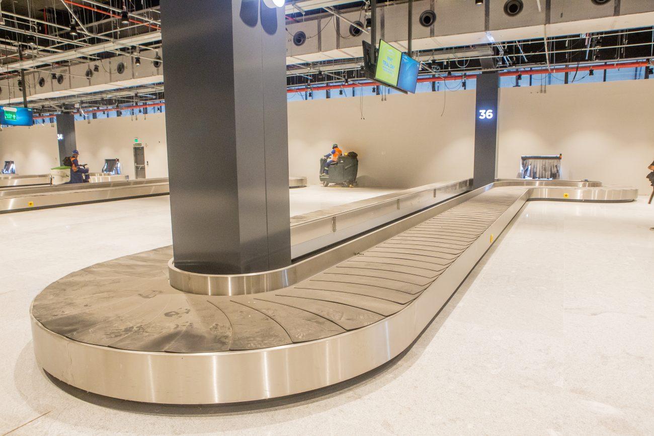 Esteiras do aeroporto para a retirada de bagagens - Flavio Tin/ND