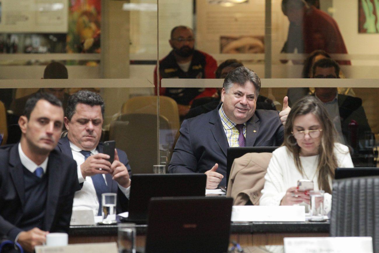João Amin, Ivan Naatz, Sergio Mora e Paulinha - Agência AL/ND
