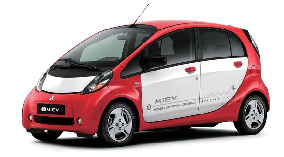 Mitsubishi i-MiEV - Foto: Divulgação - Foto: Divulgação/Garagem 360/ND