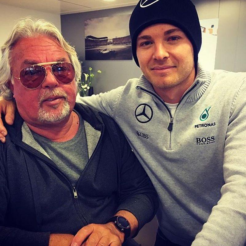Keke e Nico Rosberg - Foto: Reprodução/Instagram - Foto: Reprodução/Instagram/Garagem 360/ND
