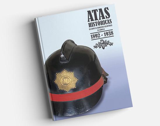 Livro será lançado em comemoração aos 190 anos da corporação – Bombeiros Voluntários/Divulgação