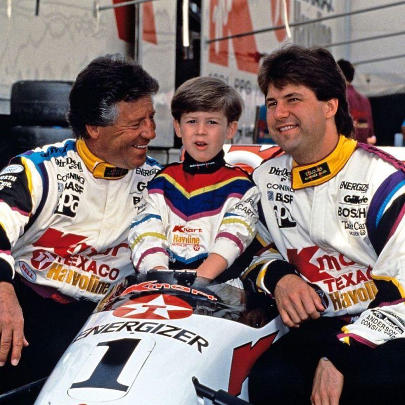 Mario, Michael e Marco Andretti - Foto: Reprodução/Instagram - Foto: Reprodução/Instagram/Garagem 360/ND