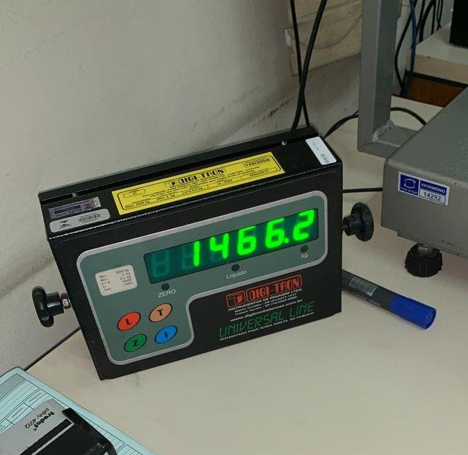Foram apreendidos 1.466 quilos da droga. Esta é considerada a maior apreensão no Porto de Itajaí, em 2019 - Divulgação/Receita Federal