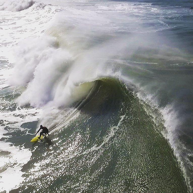 Poder das ondas da praia da Joaquina, em Florianópolis - Flávio Tin/ND